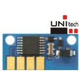 CHIP KONICA MINOLTA MAGIC COLOR 2400 / 2430 / 2450 / 2480 / 2490 / 2500 / 2550 - CYAN
