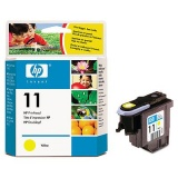 GŁOWICA DRUKUJĄCA NR 11 - YELLOW - HP BUSINESS INKJET 1000 / 1100 / 1200 / 2200 / 2250 / 2600 / 2800 DESIGNJET 500 / 800 OFFICEJET 9110 / 9120 / 9130 COLOR INKJET CP 1700 / 9110 / 9120 - C4811A -ORYG.