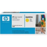 TONER Q6002A ( cartridge - oryginał) HP 1600 / 2600 / 2605 / CM1015 / CM1017 Yellow